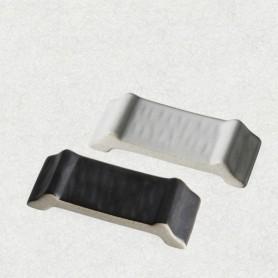 ERATO 토랑 수저받침 (블랙, 화이트) (도자기)