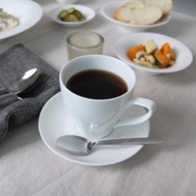 ERATO 더본마인 볼륨 커피잔, 받침