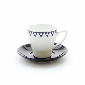ERATO 더본마인 몬타나 커피잔, 받침