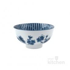 유포 블링-8 도자기 매화꽃 공기 밥그릇 / 도자기식기 / 도자기그릇 / 업소용그릇 / 공기그릇
