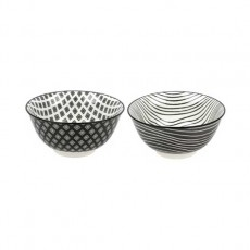 유포 도자기 블링-97,98 모노 공기(패턴,라인) 2종 택1 밥그릇 / 도자기식기 / 도자기그릇 / 업소용그릇 / 공기그릇