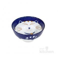 유포 도자기 블루캣-10 공기 밥그릇 / 도자기식기 / 도자기그릇 / 업소용그릇 / 공기그릇
