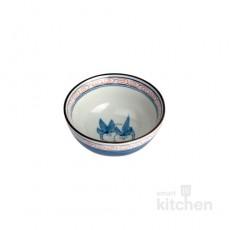 유포 도자기 VIP-209 파랑 공기 밥그릇 / 도자기식기 / 도자기그릇 / 업소용그릇 / 공기그릇
