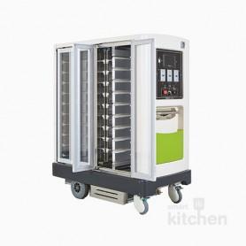 라온카트 온장 냉장 전동 배식운반카