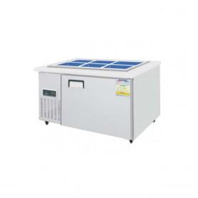 레인보우 쿨스타 반찬냉장고 SDB-1215R (275ℓ) (W1200*D700*H800) 스텐 / 기계실좌 / 우