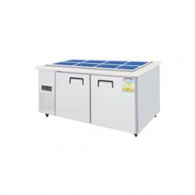 레인보우 쿨스타 반찬냉장고 SDB-1520R (375ℓ) (W1500*D700*H600) 스텐 / 기계실좌 /우