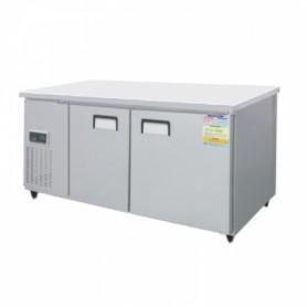 레인보우 쿨스타 테이블냉동고 SDT-1526F (W1500×D600×H800) 냉동테이블 / 스텐 / 294ℓ