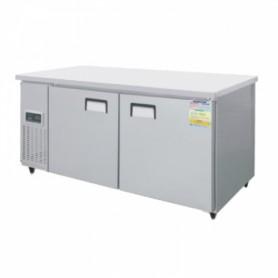 레인보우 쿨스타 테이블냉동고 SDT-1820F (W1800×D700×H800) 냉동테이블 스텐 374ℓ
