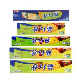 TG 유니랩 5종 / 위생 랩 / 가정용 랩 / 일회용 랩