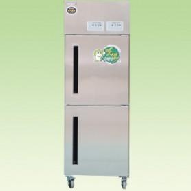 DS-F650D 맛샘 업소용 김치냉장고 올스텐 - 상하도어형