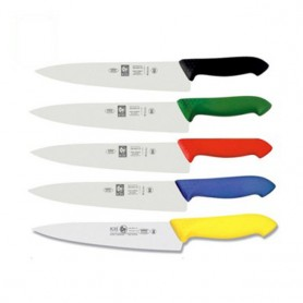 이셀 호레카 식칼 25(검정,녹색,적색,청색,황색)