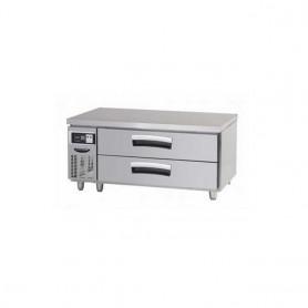라셀르 4자 낮은서랍식 테이블(기본핸들) LCBD-1224RG