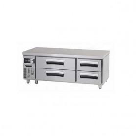 라셀르 5자 낮은서랍식 테이블(기본핸들) LCBD-1544RG