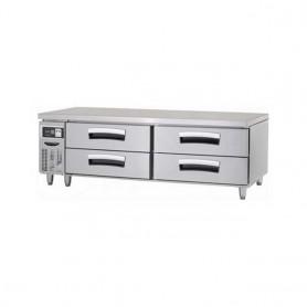 라셀르 6자 낮은서랍식 테이블(기본핸들) LCBD-1844RG