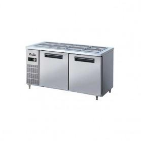 라셀르 실속형, 5자 찬냉장 테이블 NRB-151R(아날로그), NRBD-151R(디지털)