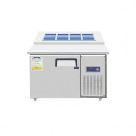 레인보우 디지털  김밥 토핑 냉장테이블 SDBT-1215CR(토핑 테이블),SDBK-1215(김밥 테이블)