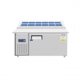 레인보우 디지털 김밥 토핑 냉장테이블 SDBT-1520CR(토핑 테이블),SDBK-1520(김밥 테이블)