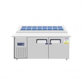 레인보우 디지털 토핑 테이블 (앞턱50mm) (W1500*750*H800)