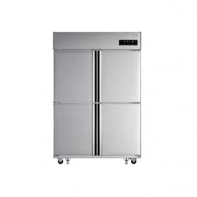LG 업소용 일체형 냉장고45BOX(1064ℓ급)C110AKB 스텐 냉장3칸 냉동1칸