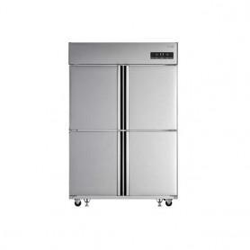 LG 업소용 일체형 냉장고45BOX(1060ℓ급)C110AHB 스텐 냉장2칸 냉동2칸