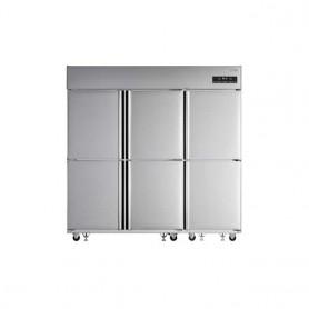 LG 업소용 일체형 냉장고65BOX(1610ℓ급)C170LDZB 스텐 냉장4칸 냉동2칸