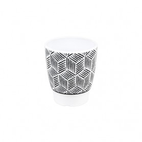 유포코리아 멜라민 큐브 컵 2708 도자기식기 / 업소용컵 / 도자기컵 / 심플컵