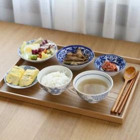 ERATO 에라토 1인 혼밥세트 8P / 도자기 그릇 세트 / JS-04