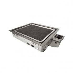 동방지엔텍 돌사각 로스타 대 DB~G1002 (돌판 별도 구매) 업소용 버너 / 테이블 버너 / 고깃집 버너 / 업소용 로스타