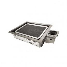 동방지엔텍 돌사각 로스타 중 DB~G1002A (돌판 별도 구매) 업소용 버너 / 테이블 버너 / 고깃집 버너 / 업소용 로스타
