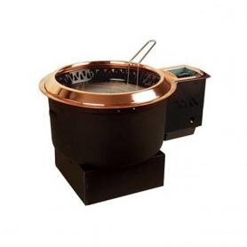 동방지엔텍 콕크박스 상부형 하향식 가스 숯불 겸용 업소용 버너 / 테이블 버너 / 고깃집 버너 / 업소용 로스타 DB-G1004 (석쇠 별도)