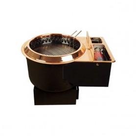 동방지엔텍 가스 숯불겸용 부탄가스 착화식 업소용 버너 / 테이블 버너 / 고깃집 버너 / 업소용 로스타 DB-G1005B (석쇠 별도)