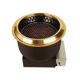 동방지엔텍 가스 전용 하향식 로스타 DB-G1001A(레버식) (석쇠 별도) 업소용 버너 / 테이블 버너 / 고깃집 로스타