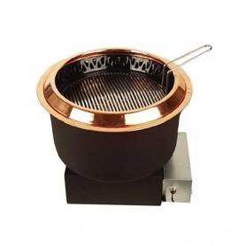 동방지엔텍 가스 숯불 가스겸용 하향식 로스타 DB-G1001B(레버식 / 로타리식) (석쇠 별도) 업소용 버너 / 테이블 버너 / 고깃집 로스타