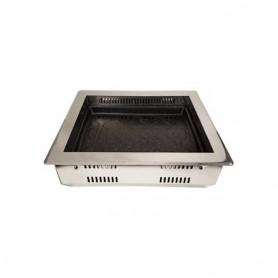 동방지엔텍 원적외선 사각전기 로스타(상향식) DB-W3100 (석쇠 포함) 업소용 로스타 / 가정용 로스타 / 테이블 로스타