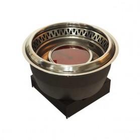 동방지엔텍 원적외선 전기 로스타(하향식) (스테인레스 / 분체) DB-2900 (석쇠포함) 업소용 로스타 / 가정용 로스타 / 테이블 로스타