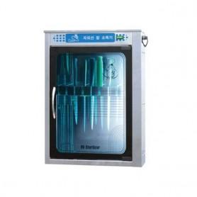 SM 자외선 칼 소독기 벽걸이형 (칼 8개) 업소용 칼 소독기 / 자외선 살균기