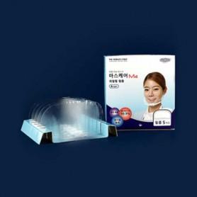 DW M4 리필 필름 A타입(5개입) 투명 위생 마스크 입가리개 / 조리용 마스크