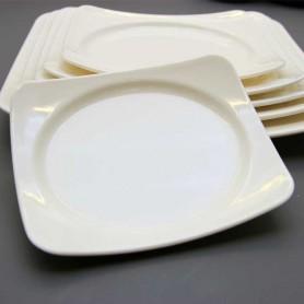 국제 웰빙사각접시 사각접시 심플한접시 멜라민접시 멜라민그릇 업소용식기 업소용그릇