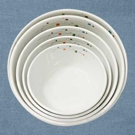 삼미 모자이크 비빔기 업소용비빔기 업소용식기 업소용그릇 멜라민식기 멜라민그릇