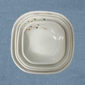 삼미 모자이크 사각쿠프 업소용사각쿠프 업소용식기 업소용그릇 멜라민식기 멜라민그릇