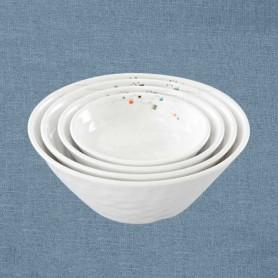 삼미 모자이크 엠보볼 업소용식기 업소용그릇 멜라민식기 멜라민그릇