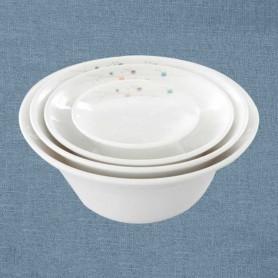삼미 모자이크 오크볼 업소용식기 업소용그릇 멜라민식기 멜라민그릇