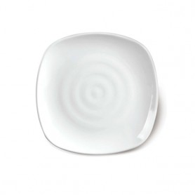 KM 골사각 양식접시 (KW-200515) 업소그릇 멜라민접시