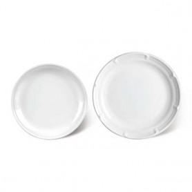 KM 양식그릇 2종 택1 원형접시 업소그릇 업소식기